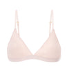 Antonia Girls' Soft Triangle Bralette ~ Rosewater