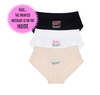 Elena Girls' Seamless Underwear Trio for Tweens