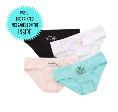Edith Girls' Organic Cotton Underwear