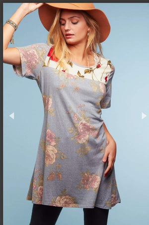 Give me a rose tunic dress