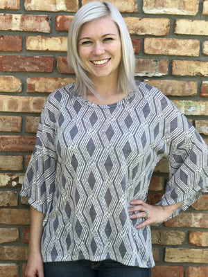 Aztec Stone Tunic Top