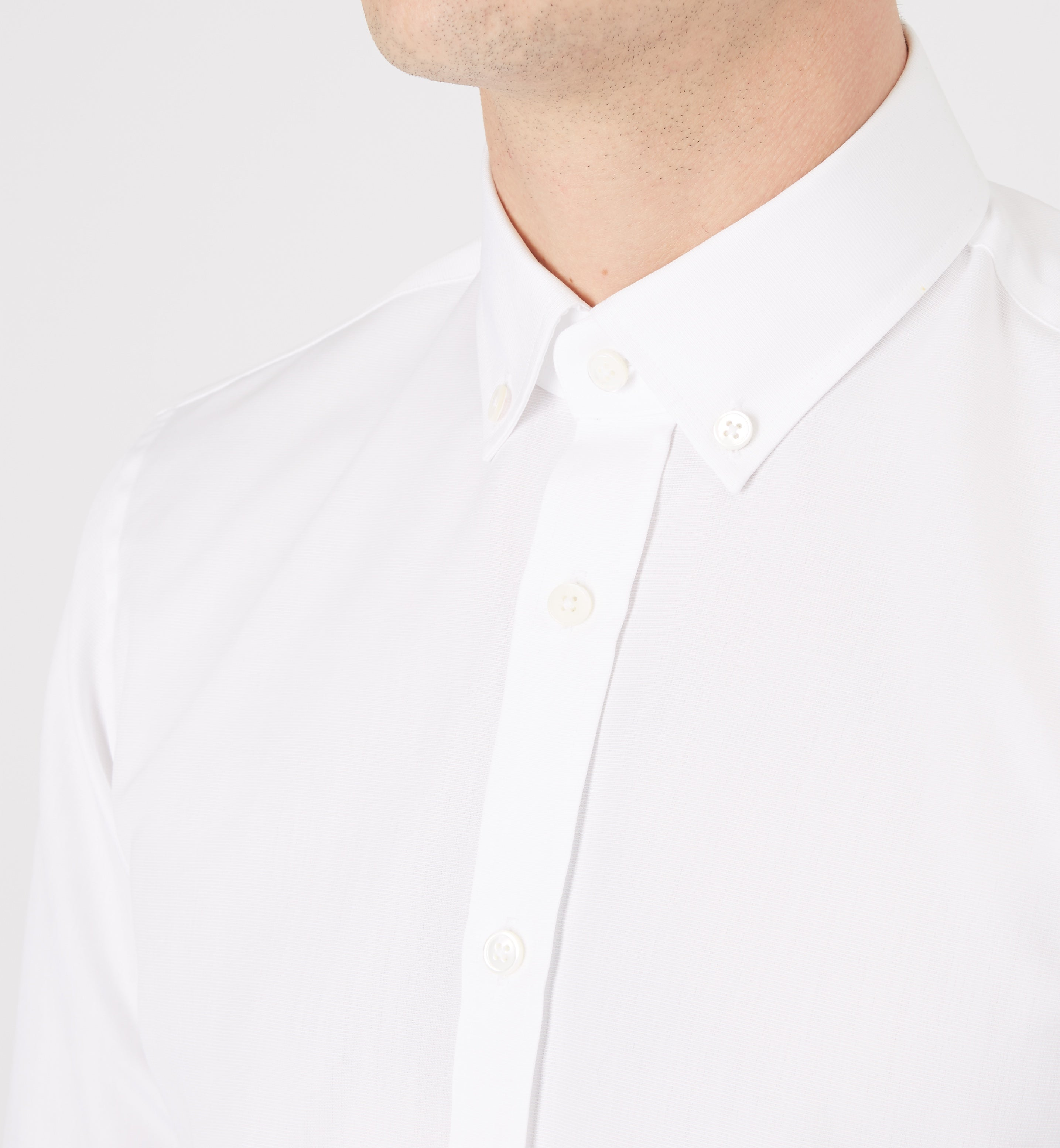 The curtain button down collar shirt from mr start