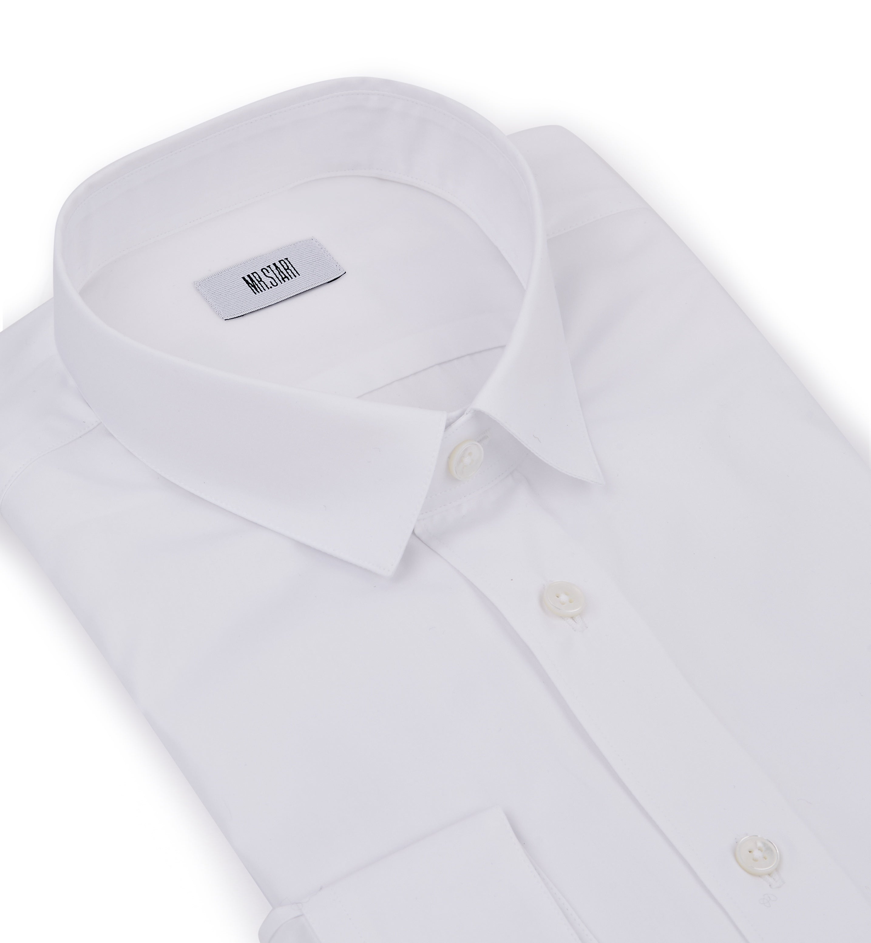 Simple mens slim shirt from Mr. Start