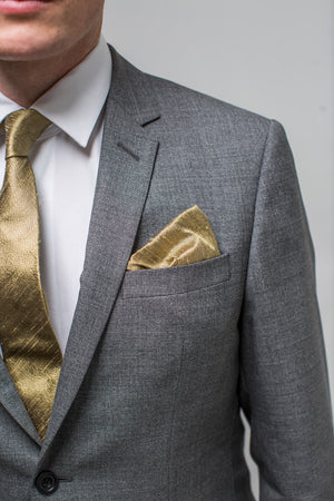 Shantung Silk Pocket Square