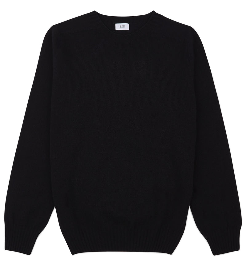 Black Kilbirnie Geelong Crew Neck Sweater