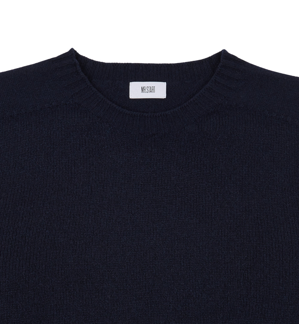 Nero Navy Kilbirnie Geelong Crew Neck Sweater
