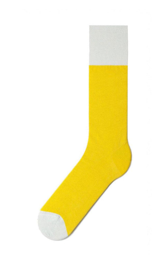 Mustard & Grey Specific Object Socks