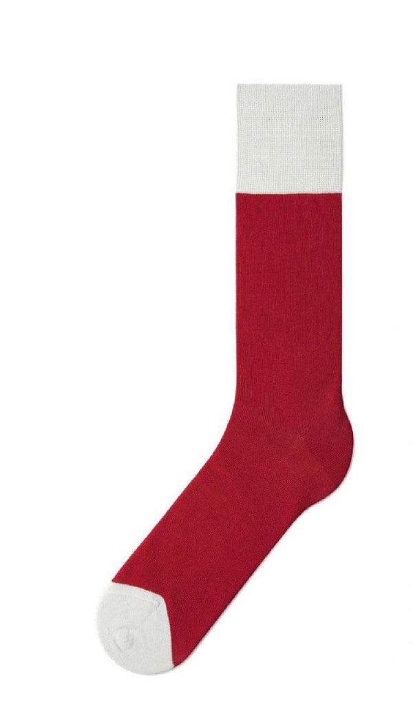 Red & Grey Specific Object Socks