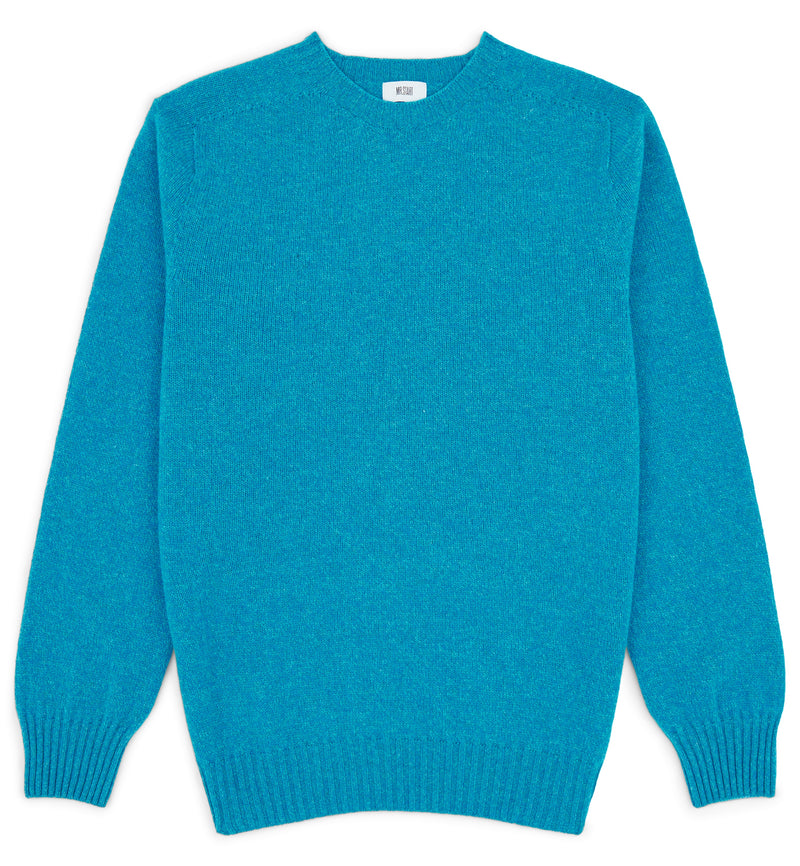 Kilbirnie Crew Neck Sweater In Topaz Marl