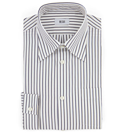 Mr Start Woman Gali Button Down Shadow Stripe Shirt