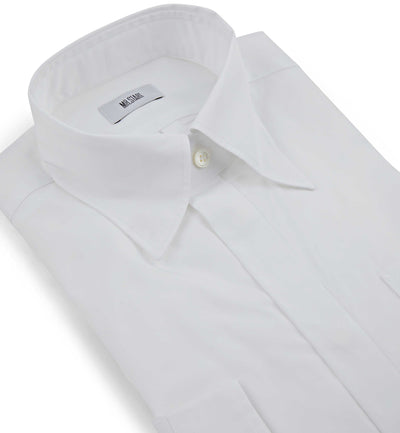 Mr Start Woman Gali Button Down White Shirt