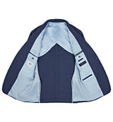 Pitfield Jacket in Light Blue Chambray Luxe