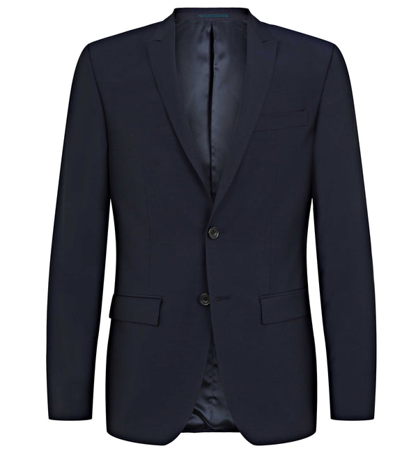 Rivington Mini Peak 2pc Suit in Dark Navy Mohair