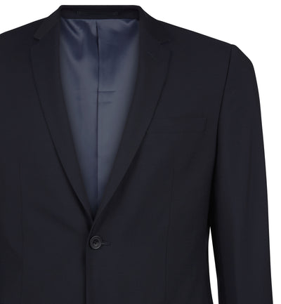 The Rivington Suit in Dark Navy Mohair