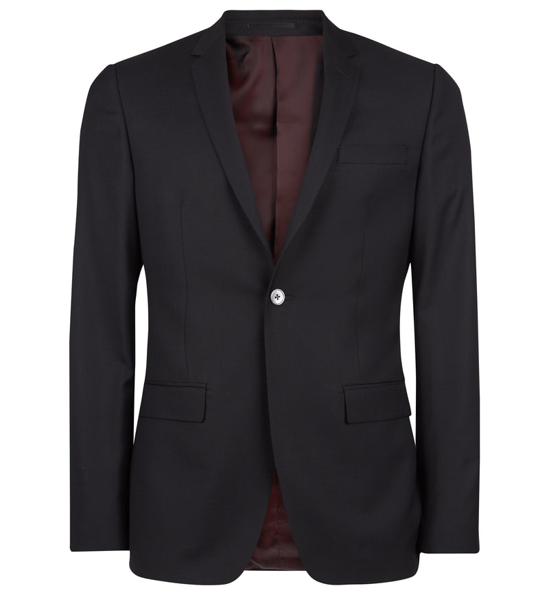 Rivington Luxe Black Suit