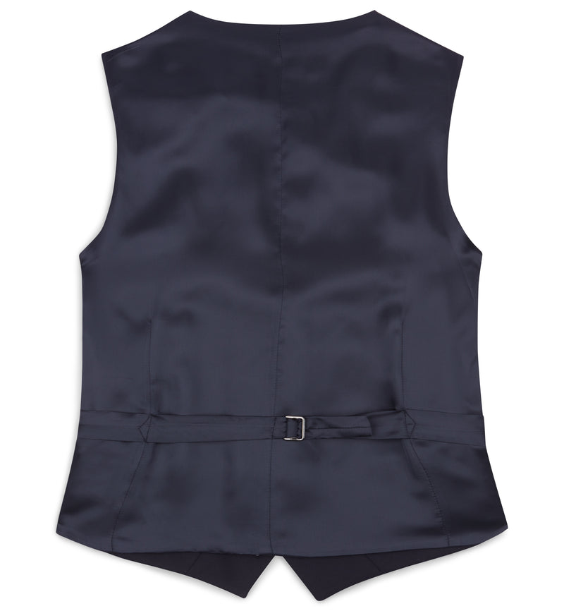 Single Breasted Waistcoat Without Lapels