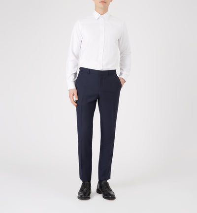 The Ritz Slim Fit Cotton Shirt in Villa Weave