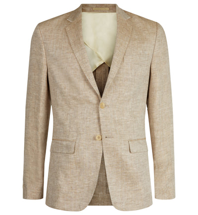 Pitfield Linen Jacket in Beige