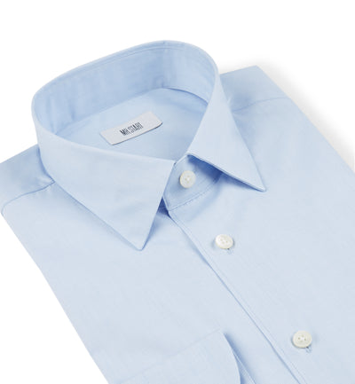 Drake Pale Blue End-On-End Shirt