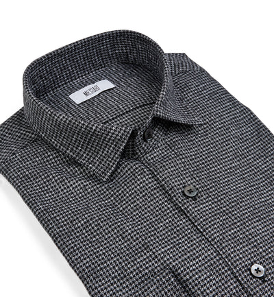 Truman Soft Houndstooth in Grey