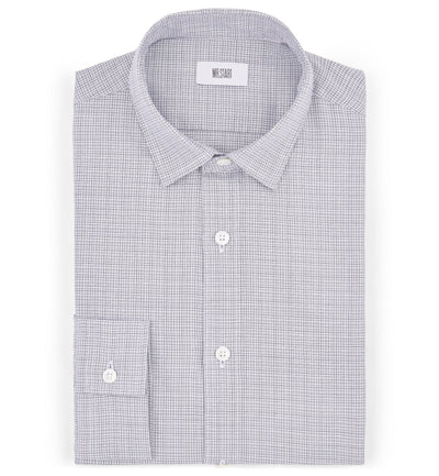 Truman Blue Mini Check Shirt