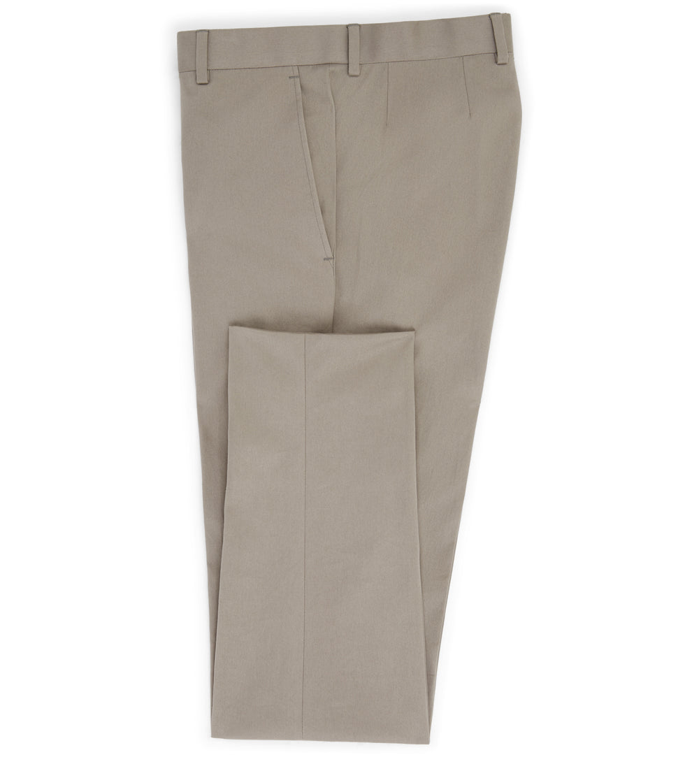 The Shakespeare Cotton Trouser in Anthracite