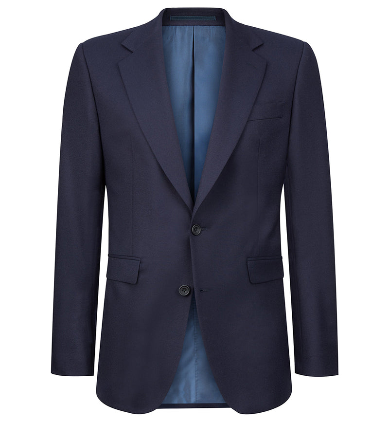 Leonard Navy Lightweight Flannel Suit