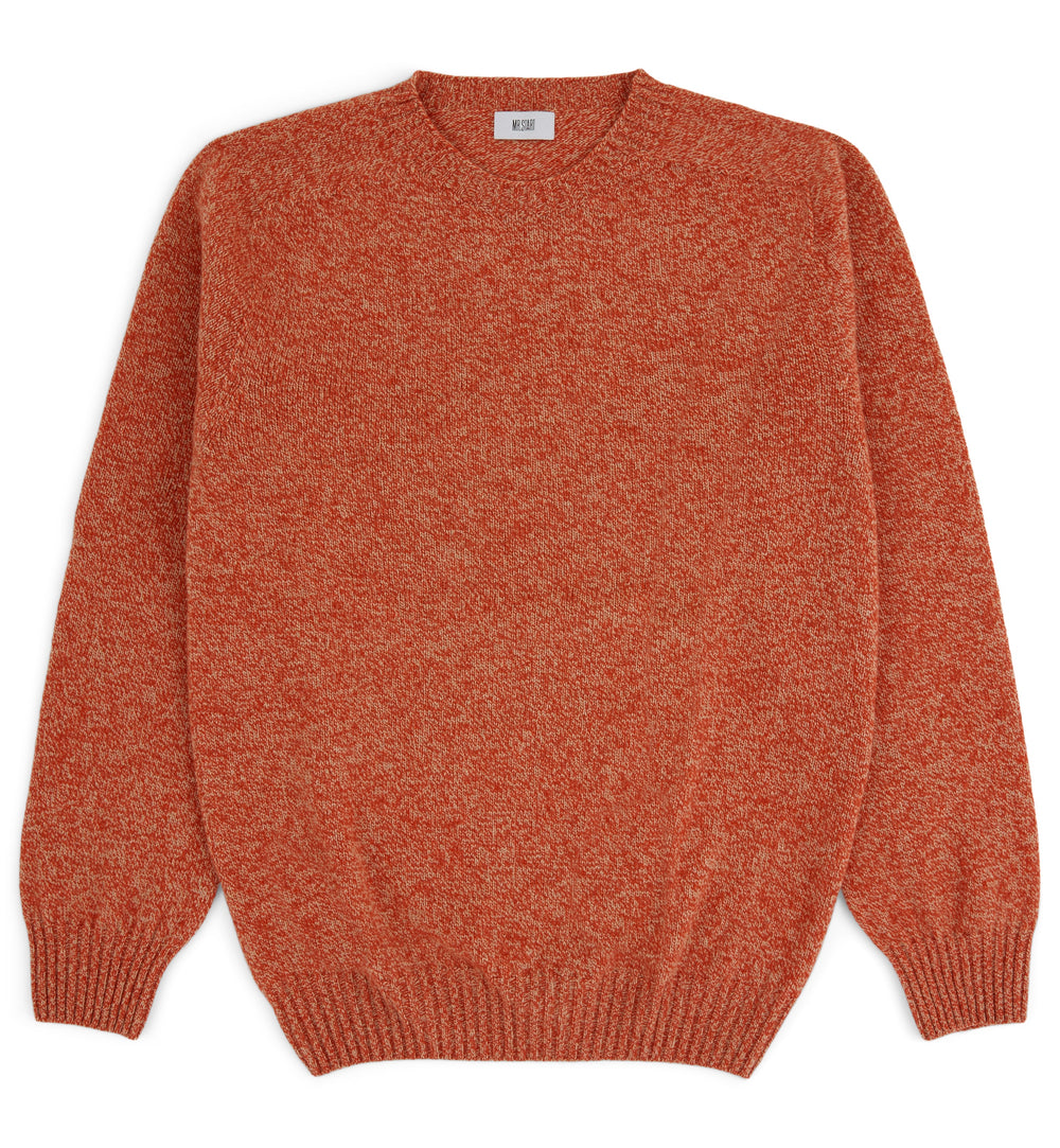 Kilbirnie Geelong Crew Neck Sweater in Vreeland Sandstorm