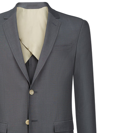 Pitfield 2pc Suit in Chromatic Grey