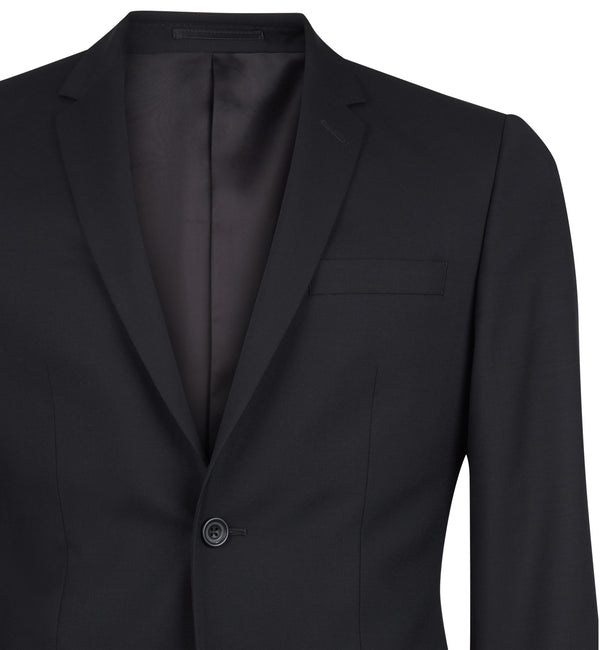 The Rivington Semi Soft Suit in Classic Black
