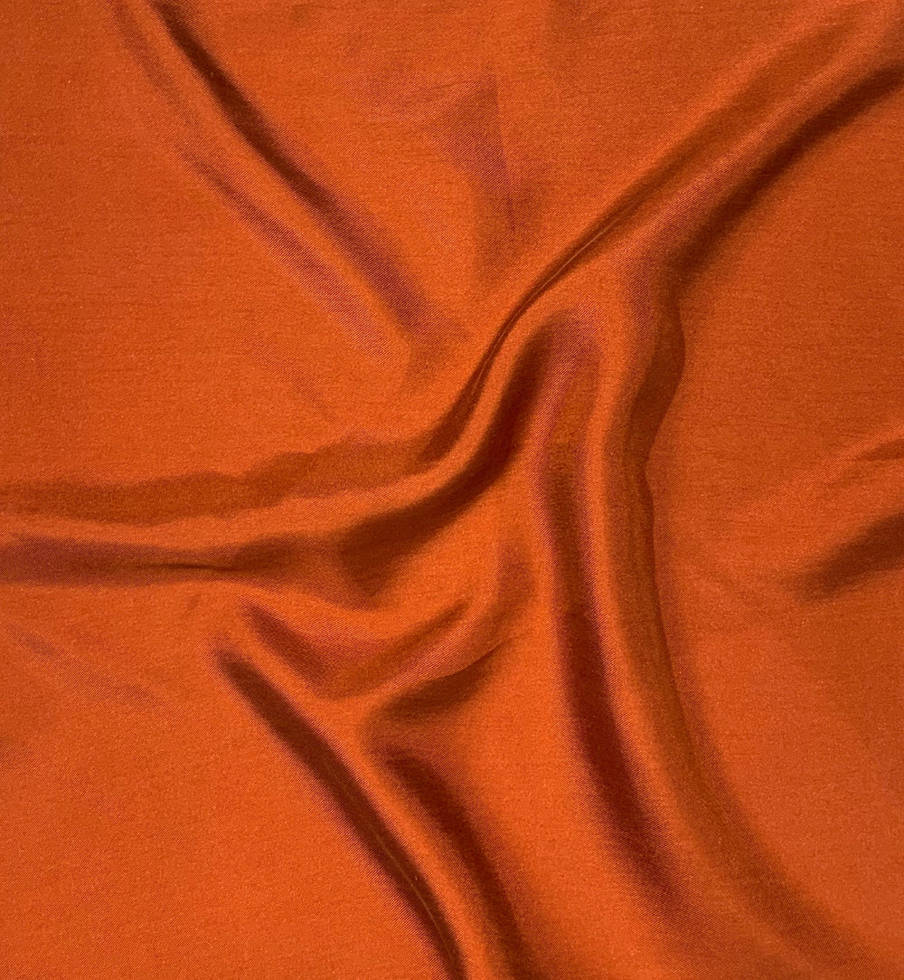 Fine Silk Copper Pocket Square