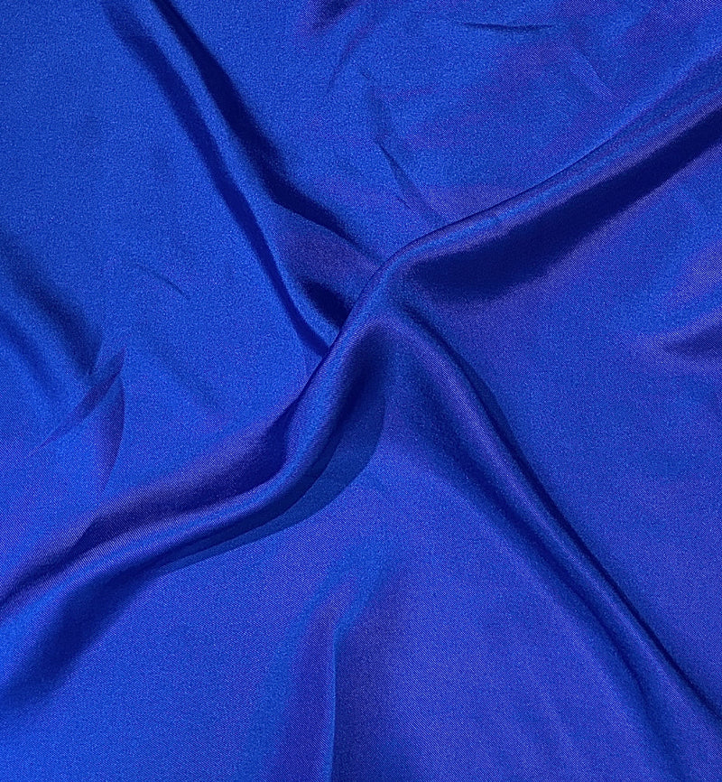 Fine Silk Royal Blue Pocket Square