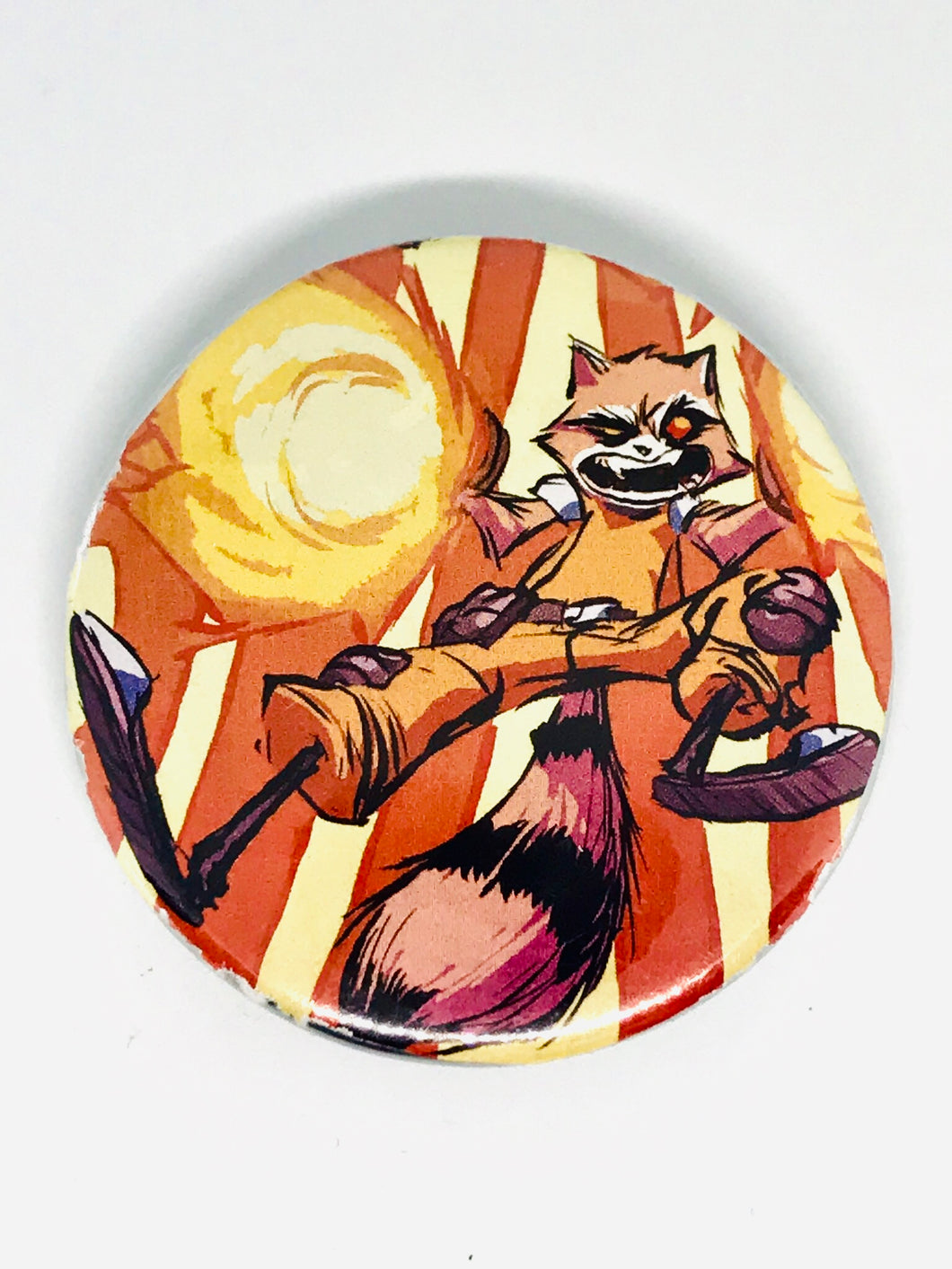 Rocket Raccoon Buttons