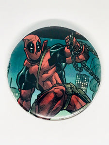 Deadpool Buttons