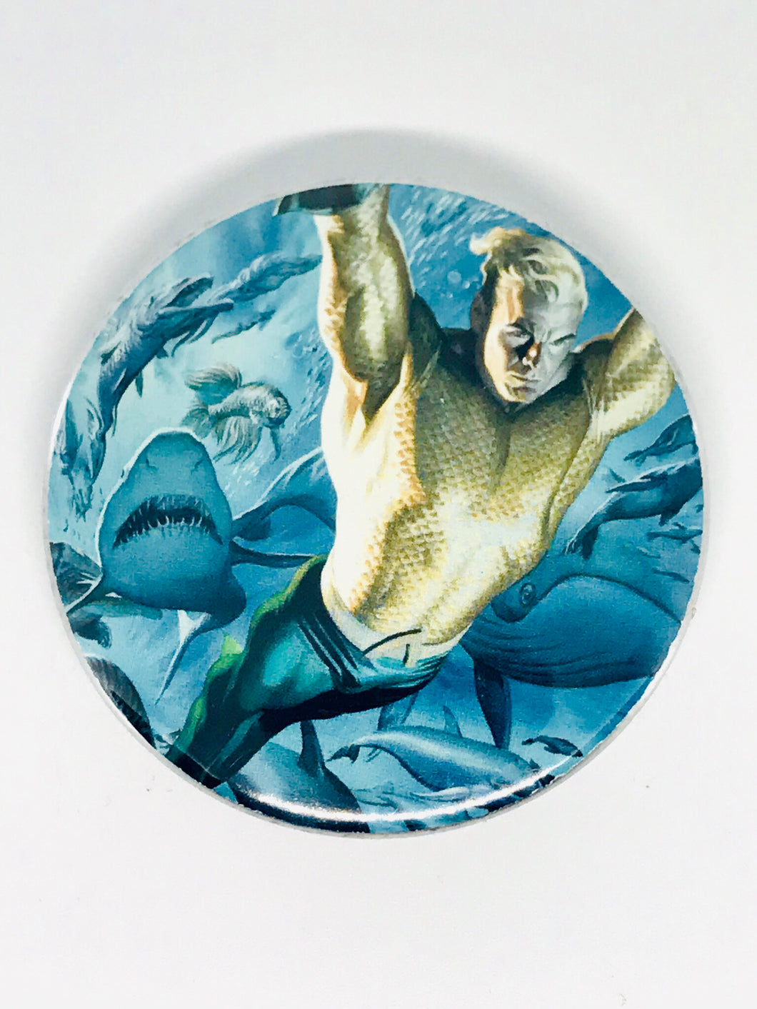 Aquaman Button