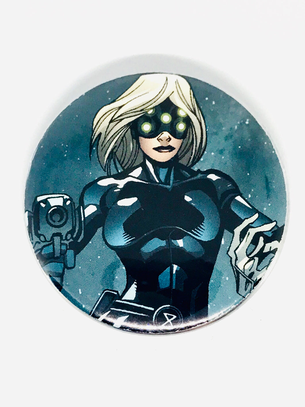 Black Widow Button
