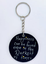 Happiness Can Be Found Keychain