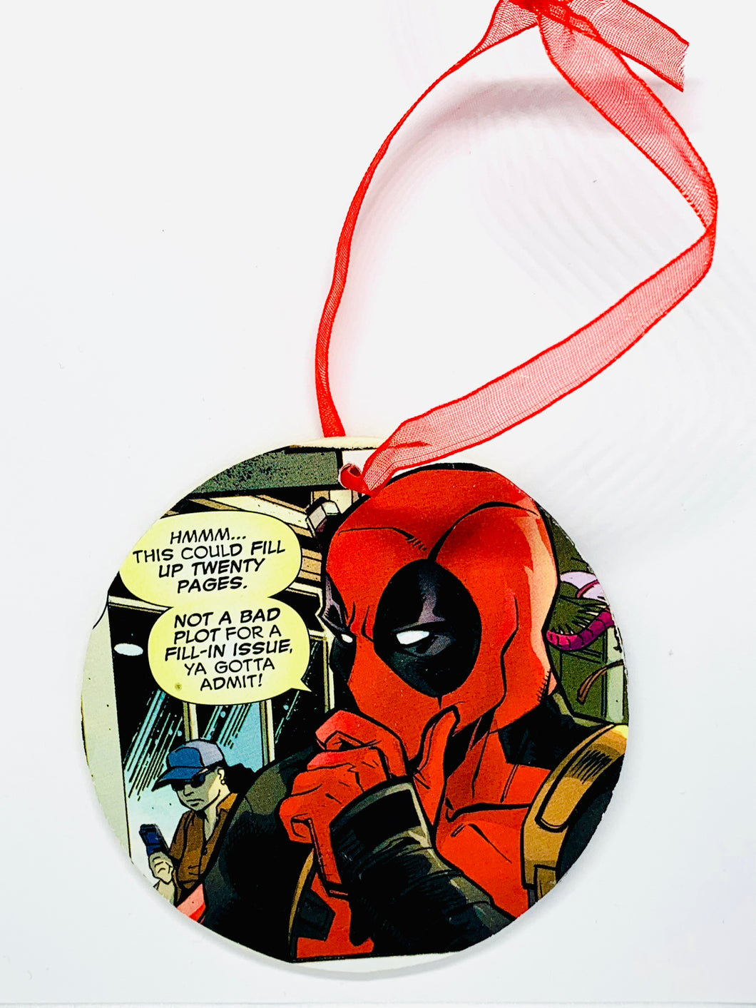 Deadpool Ornament