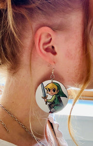 Batgirl Earrings