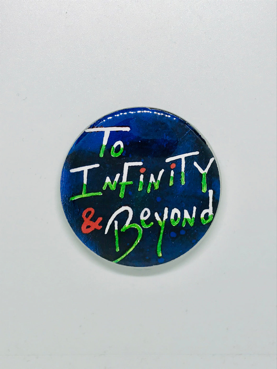 Infinity & Beyond Button