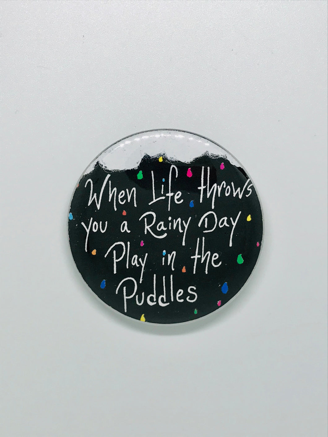 Rainy Day Button