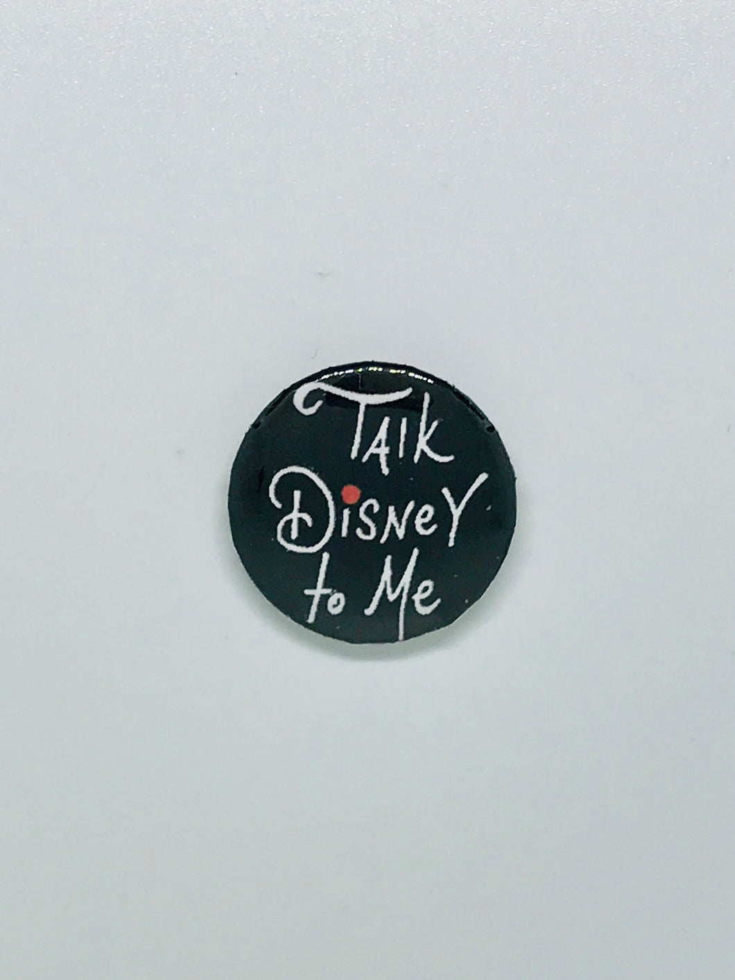 Talk Disney Button