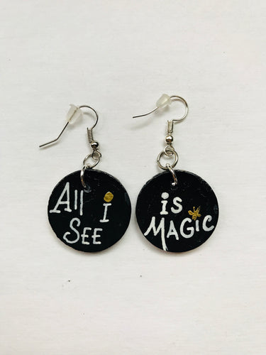 All I See is Magic - Small Earrings