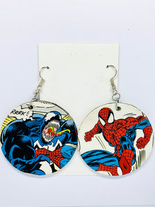 Spiderman & Venom Earrings