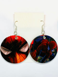 Spiderman Earrings