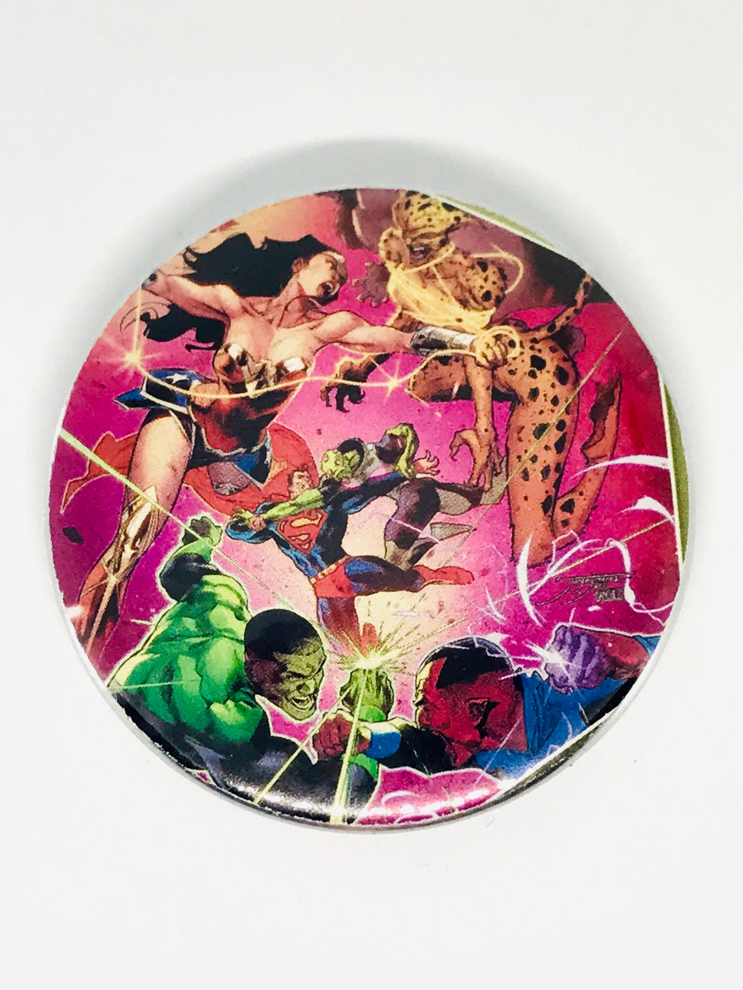 Justice League Button