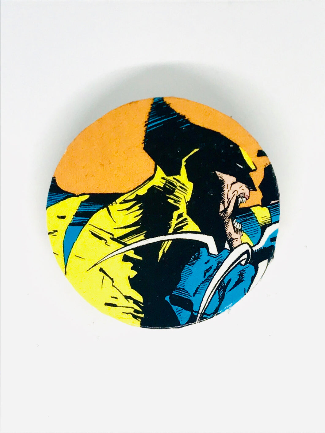 Wolverine Wood Pin