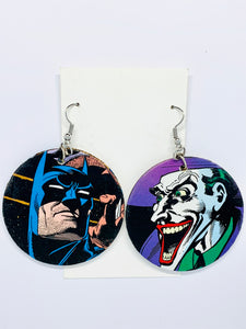 Batman & Joker Earrings