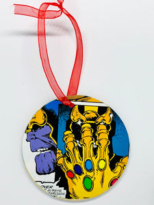 Thanos Ornament