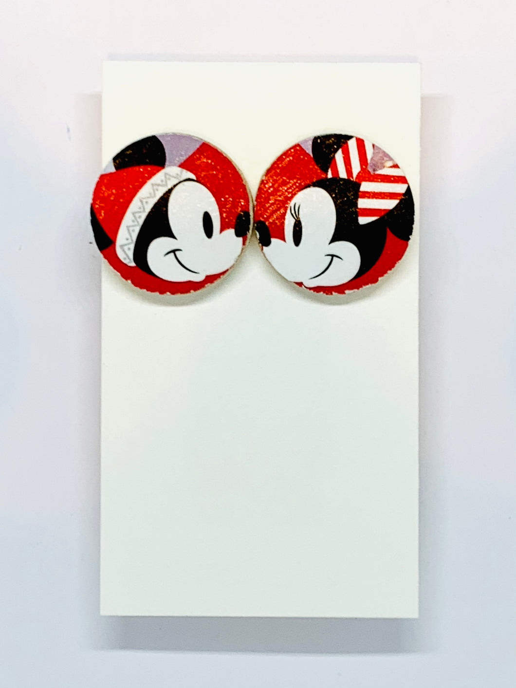 Mickey & Minnie Studs